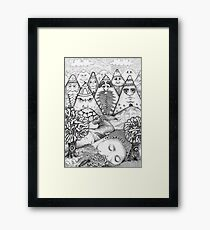 Landscape 001 Framed Print