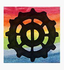 Heda Symbol - Rainbow Photographic Print