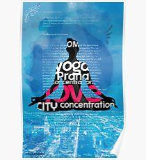 Philadelphia YOGA BOOK Poster