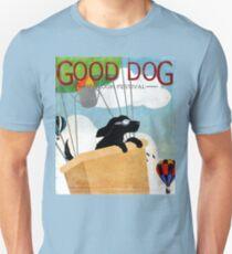 Good Dog Hot Air Balloon Festival dogs in flight Unisex T-Shirt