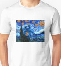 Cookie Monster Starry Cookie Night Unisex T-Shirt