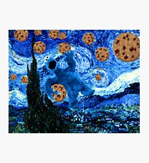 Cookie Monster Starry Cookie Night Photographic Print