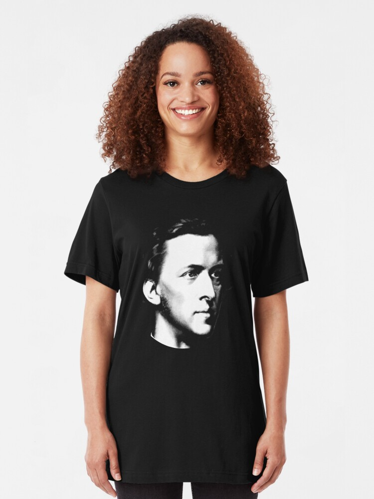 Alternate view of Frédéric Chopin - Composer Slim Fit T-Shirt