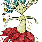 golden fairy by Gaia Marfurt