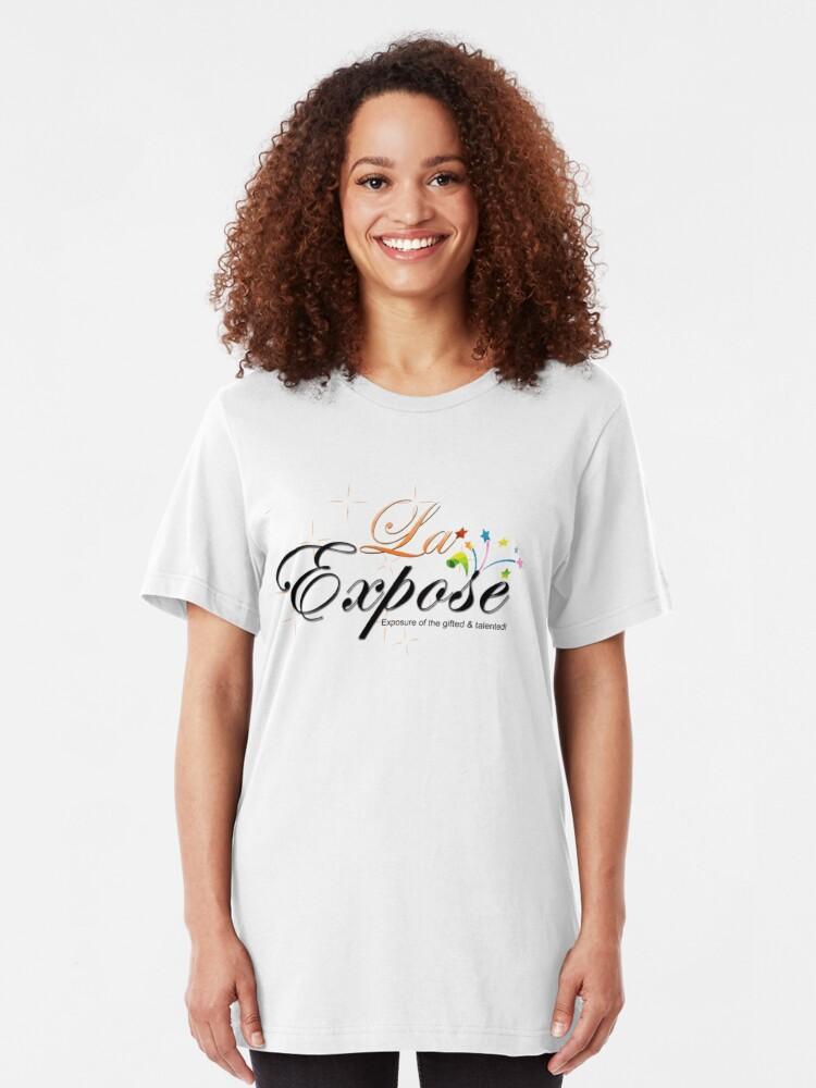 Alternate view of laExpose Slim Fit T-Shirt