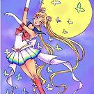 Super sailor moon by mitzimaru