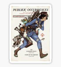 Publick Occurrences Sticker