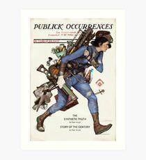 Publick Occurrences Art Print