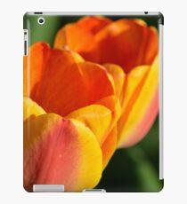 Spring Sunset Tulips iPad Case/Skin