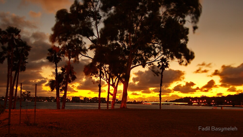 Sunset in Perth by Fadil Basymeleh