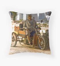 Alternative Travel Mode Throw Pillow
