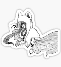 Timber Wolf - Whimsy Sticker