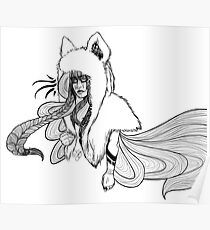 Timber Wolf - Whimsy Poster