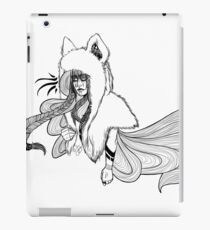 Timber Wolf - Whimsy iPad Case/Skin