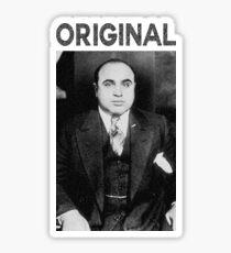 ORIGINAL GANGSTER AL CAPONE Sticker