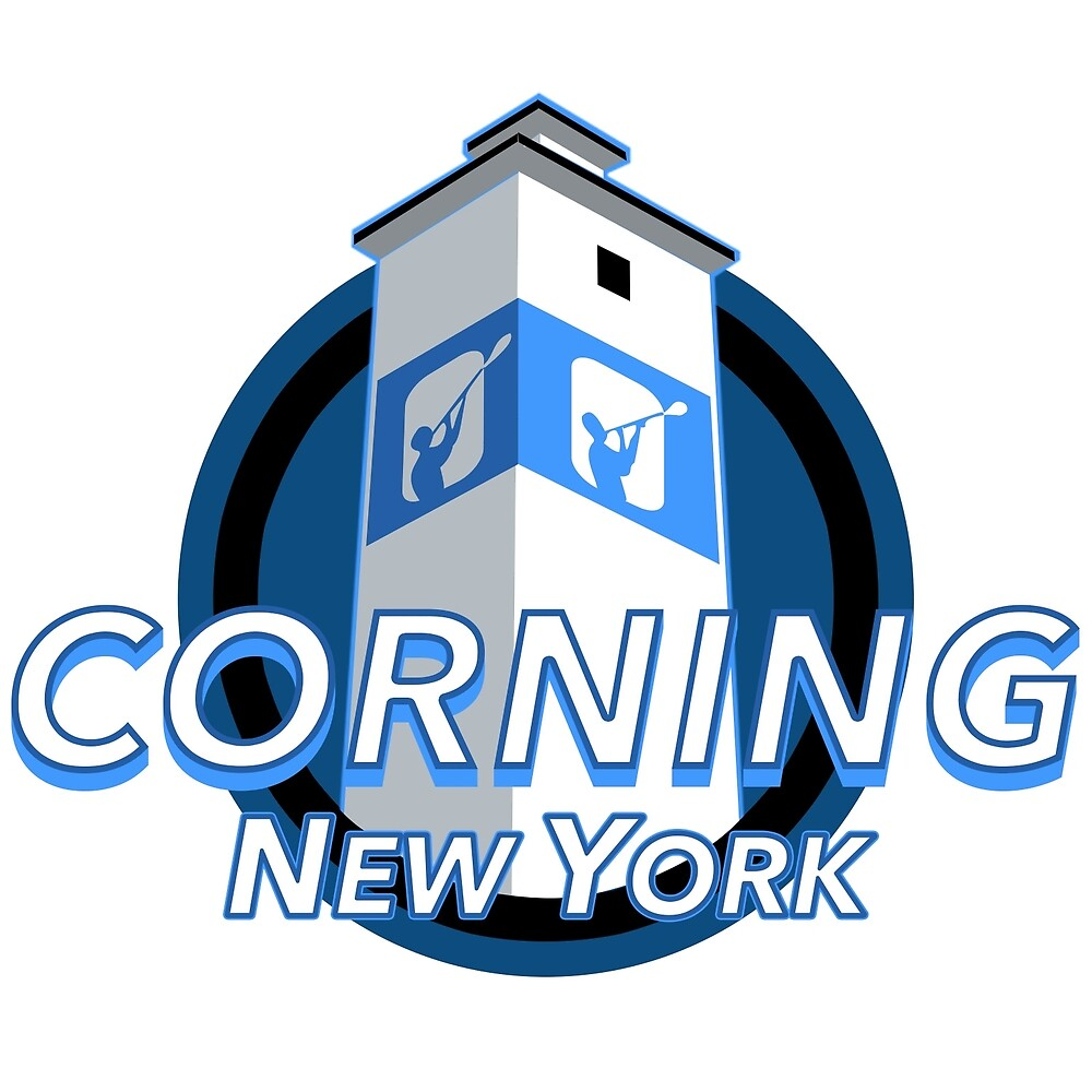 Corning New York Decal by mackspek