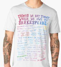 Shakespeare Quotes Men's Premium T-Shirt