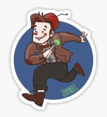 Chin Boy - Eleventh Doctor Sticker