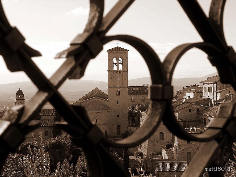 Church in Assisi by matt18041