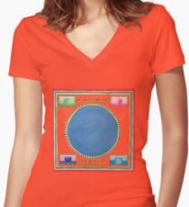 Talking Heads – Speaking in Tongues Women's Fitted V-Neck T-Shirt