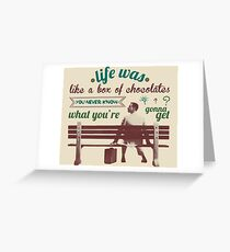 Forrest Gump Greeting Card