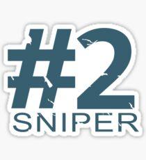 Sniper Number 2 Mug Sticker