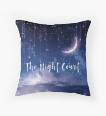 The Night Court Throw Pillow