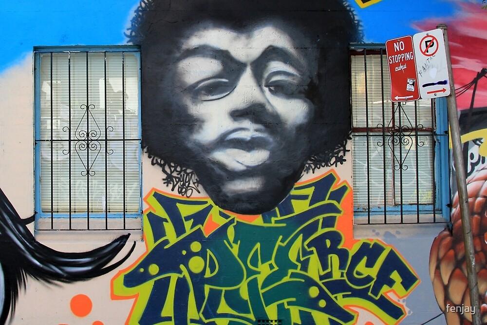 Street Art: global edition # 10 by fenjay