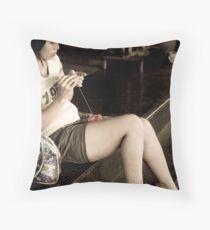 Patpong 'Hooker' Throw Pillow