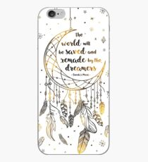 The world will be saved iPhone Case
