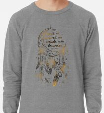The world will be saved Lightweight Sweatshirt