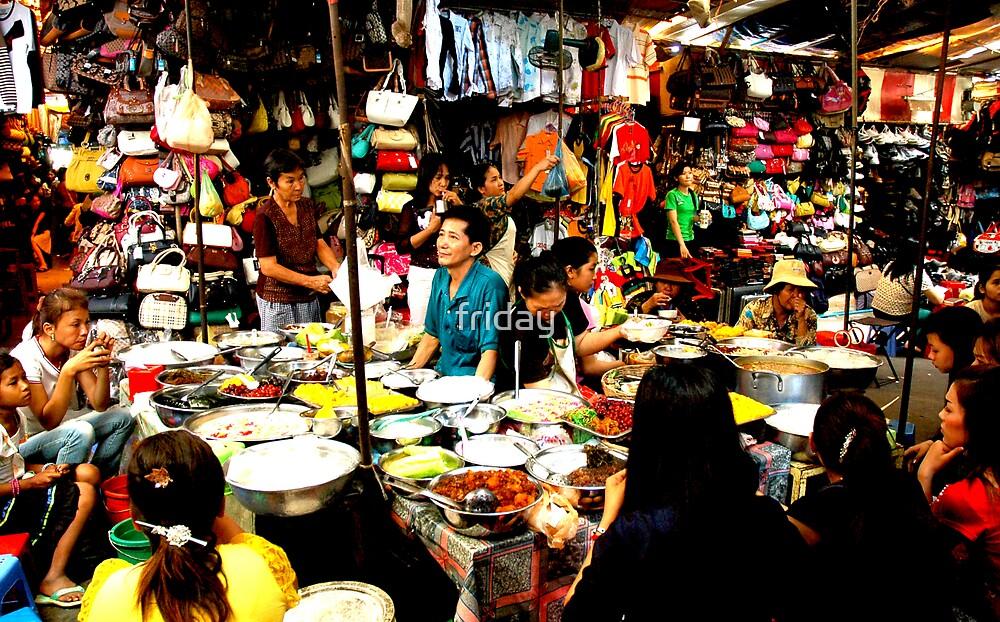 phnom penh market  by Amagoia  Akarregi