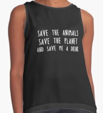 Save me a drink Contrast Tank