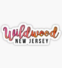 Wildwood New Jersey Sticker