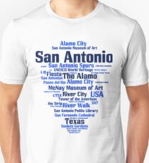 San Antonio (Texas, USA, Alamo City, River City) Unisex T-Shirt