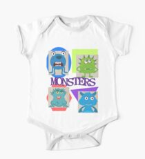 Monsters One Piece - Short Sleeve