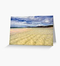 Harris: Wading in the Clear Waters Greeting Card