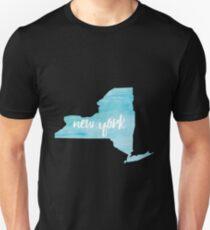 New York– blue  Unisex T-Shirt