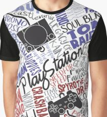 Playstation tribute Graphic T-Shirt