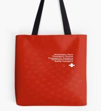 Swiss Passport Tote Bag