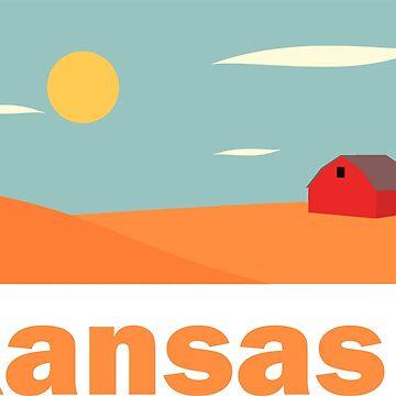Kansas by claycerny