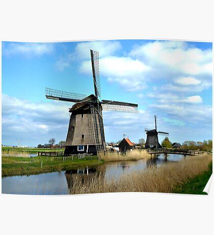 Draining the polder  Poster