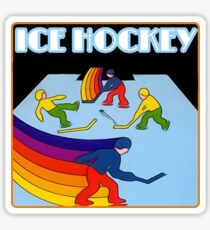 Ice Hockey - Atari 2600 & NES Sticker