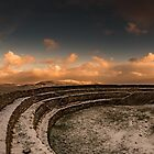 Snow at the Fort by Neil Carey