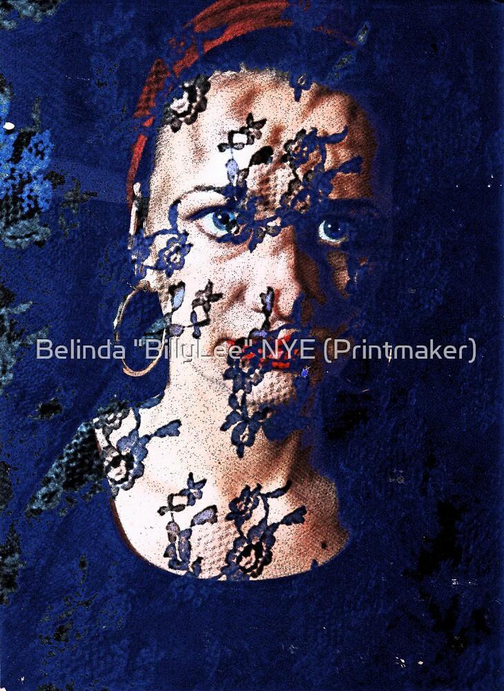 """Spanish Eyes by Belinda """"BillyLee"""" NYE (Printmaker)"""