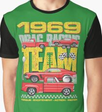 69 Red Racing Team Graphic T-Shirt