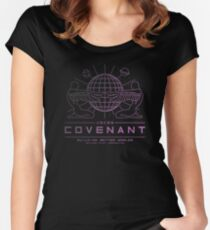 Covenant 90s Women's Fitted Scoop T-Shirt