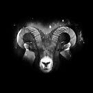 Zodiac Sign Aries by Marjolein Schattevoet