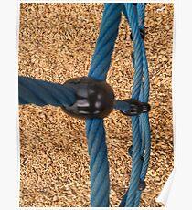 Playground Rope Climb Poster