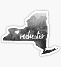Rochester– grey Sticker